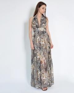 Платье шифоновое абстрактное