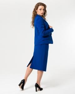 Пиджак офисный синий
